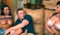 Horny stepmom shares stepdaughter's boyfriend